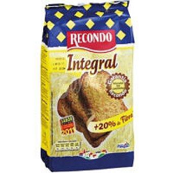 Recondo Pan tostado integral Paquete 180 g