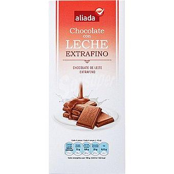 Aliada Chocolate con leche extrafino Tableta 125 g