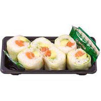 SUSHITAKE Roll de salmón-aguacate Bandeja 175 g