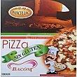 Pizza de bacon sin gluten Envase 400 g Panceliac