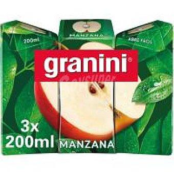 Granini Zumo de manzana Pack 3 x 20 cl