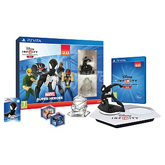 PS VITA Starter Pack Disney Infinity 2.0 Marvel Super Heroes 1 unidad