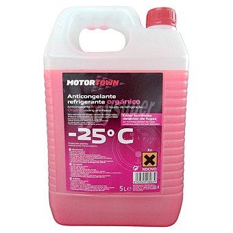 MOTORTOWN Refrigerante orgánico 06063 Anticongelante Garrafa de 5 l
