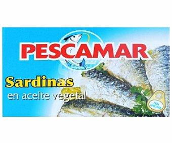Pescamar Sardinas en Aceite Vegetal 81 Gramos