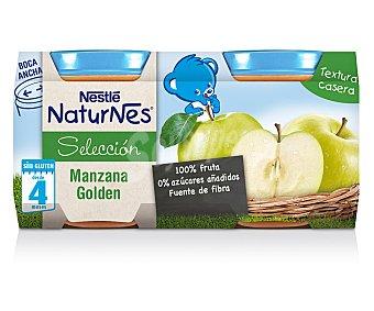 Naturnes Nestlé Tarritos de manzana Selección Pack de 2x200 gr