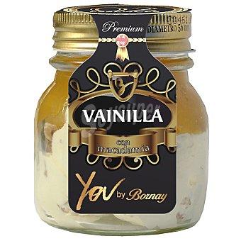 You by Bornay Helado de vainilla con confitura de melocotón y nueces de macadamía Tarro 250 ml