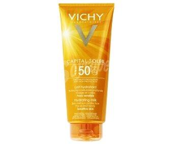 VICHY Capital Soleil Leche solar hidratante, Alta protección FP50 300 Mililitros