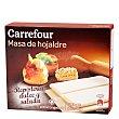 Masa de hojaldre estirada 500 g Carrefour