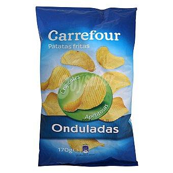 Carrefour Patatas fritas onduladas 170 g