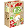 Bio palomitas para microondas al punto de sal 100% ecológico sin gluten Estuche 3 sobres x 80 g Popitas Borges