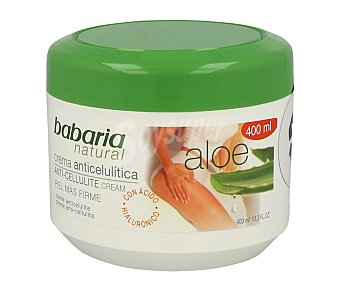 Babaria Crema anticelulitica con Aloe Vera 200 mililitros