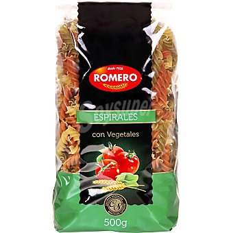 Romero Espirales con vegetales tricolor 500 g