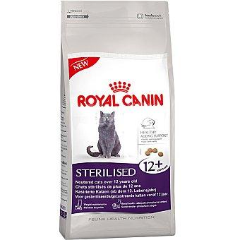 ROYAL CANIN STERILISED 12+ Alimento especial para gato de + 12 años ayuda a mantener el peso ideal bolsa 400 g Bolsa 400 g