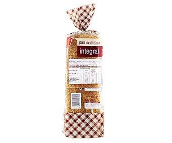 Auchan Pan de molde integral 600 gramos