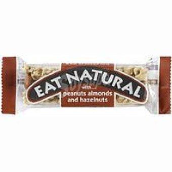 EAT NATURAL Barrita de cacahuete-almendra 1 unid