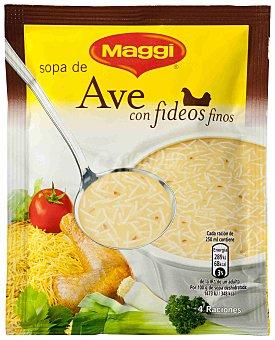 Maggi Sopa de ave con fideos 78 g