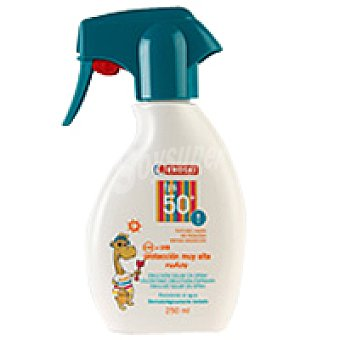 Eroski Spray solar niños FP50 Spray 250 ml