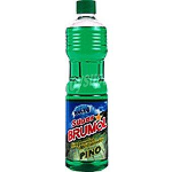 Brumol Limpiador y abrillantador pino Botella 1 l