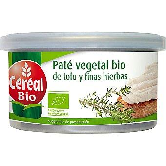 CEREAL BIO Paté vegetal de tofu y finas hierbas ecológico Envase 125 g