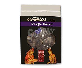 TÉS DEL MUNDO Té negro pakistaní TÉ DEL mundo 12 filtros 24 gr