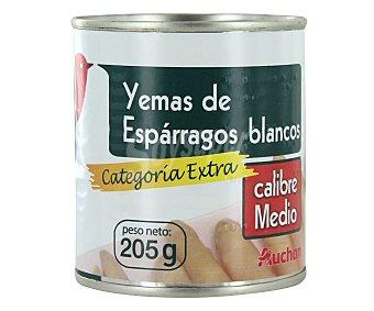 Auchan Yemas de espárragos 10/16 piezas Lata de 135 grs