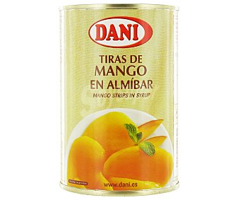 Dani Tiras de Mango en Almíbar 220 Gramos