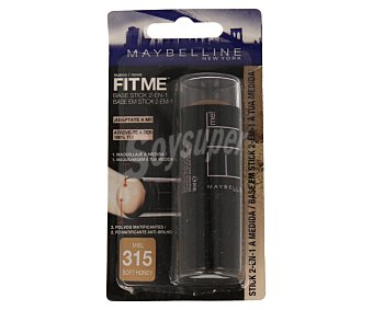 Maybelline New York Maquillaje fit me stick 315 1 unidad
