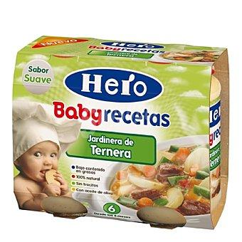 Hero Baby Tarrito de jardinera de ternera Recetas
