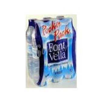 Font Vella Agua Mineral Tapón Sport Pack 6 5 L