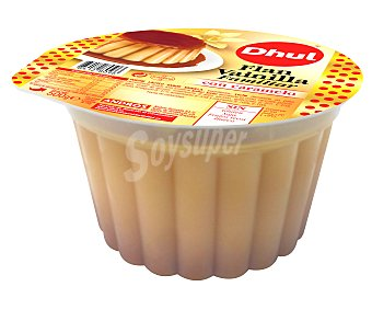 Dhul Flan de vainilla con caramelo elaborado sin gluten, sin soja y sin huevo 500 g