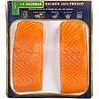 Lomos de salmón noruego 100% fresco al punto de sal sin espinas bandeja 300 g bandeja 300 g La balinesa