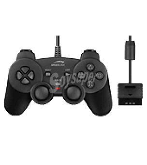 Sony PS2 gamepad strike negro