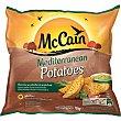 Mediterranean Potatoes gajos de patatas con piela  las finas hierbas  bolsa 750 g Mc Cain