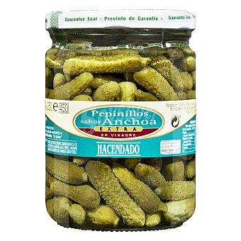 Hacendado Pepinillo sabor anchoa Tarro 420g. escurrido 250g