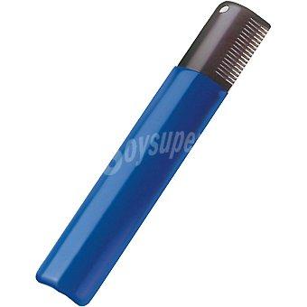 Artero cosmetics Peine especial stripping color azul ancho para razas de pelo duro 1 unidad