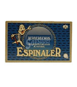 Conservas Espinaler Berberechos 50 piezas 65 g