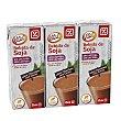 Bebida de soja con chocolate Pack 3 unidades 200 ml DIA Vital
