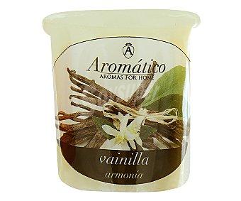 AROMÁTICO Vela perfumada con olor intenso de vainilla 1 Unidad