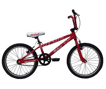 TEAM Bicicleta monovelocidad Bmx de 20 pulgadas No Foot, cuadro de aluminio 1 Unidad
