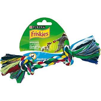 Friskies Purina Juguete para perro con cuerda para mascar grande  1 unidad