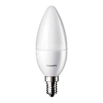 Philips Bombilla vela led 40W E14 cálida mate 1 ud