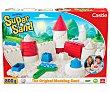 Juego para moldear Super Sand Castillos, con 4 moldes y de arena Super Sand GOLIATH. 900 gramos Goliath