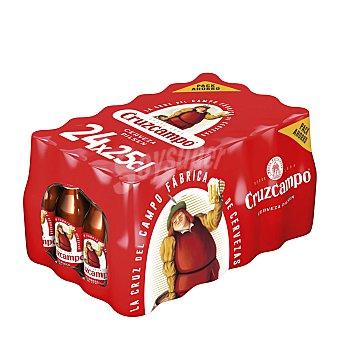 Cruzcampo Cervezas Pack 24 x 25 cl