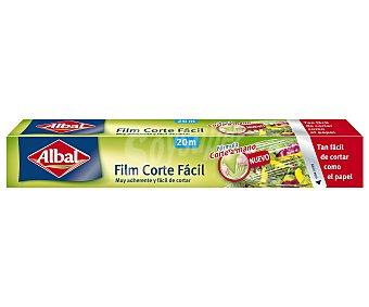 Albal Film transparente corte facil rollo 20 m muy adherente y facil de cortar 20 metros.
