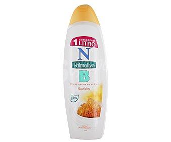 Palmolive Gel de baño o ducha en crema con miel y leche hidratante 1000 mililitros