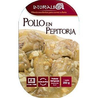 La Torralba Pollo en pepitoria Envase 250 g