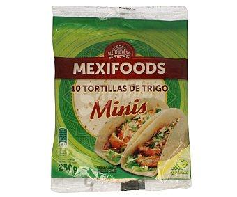 Mexifoods Tortillas de trigo Paquete 10 unidades (250 g)