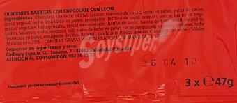 Tokke Chocolatina 3 Unidades de 47 Gramos
