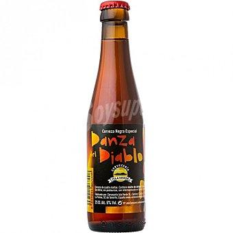 Danza del Diablo Cerveza negra especial de La Palma Botella 33 cl