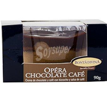 Bonta divina Opera de chocolate-café Tarrina 90 g